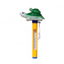 Plovoucí teploměr s provázkem - želvička