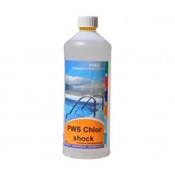 PWS Chlor shock kapalný 1l