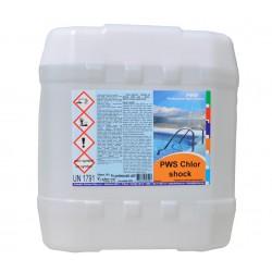 PWS Chlor shock kapalný 20l