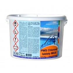 PWS Chlorové tablety do bazénu MAXI 3kg