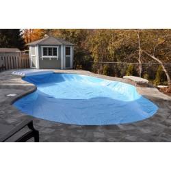 Zazimování bazénu o objemu 16 až 25 m3