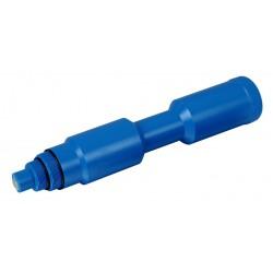 Zimní dilatační zátka do skimmeru velká - modrá