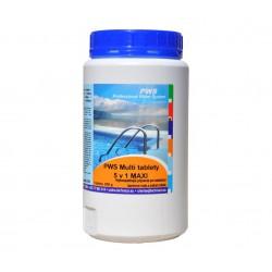 PWS Multi tablety do bazénu 5v1 MAXI 1kg