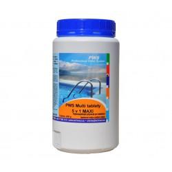 PWS Multi tablety do bazénu 5v1 MAXI 2kg