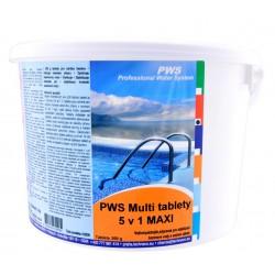 PWS Multi tablety do bazénu 5v1 MAXI 30kg
