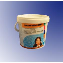 PWS OXY Tablety do bazénu MAXI 10kg