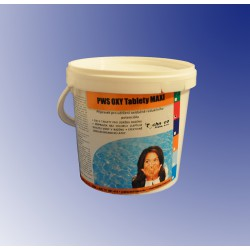 PWS OXY Tablety do bazénu MAXI 1kg