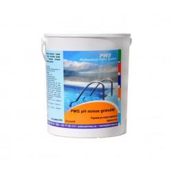 PWS pH mínus granulát 1,5kg