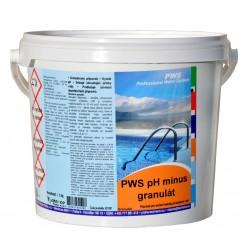 PWS pH mínus granulát 25kg