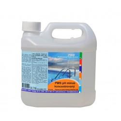 PWS pH mínus koncentrovaný 2l