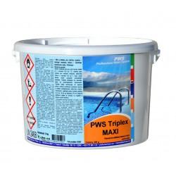 PWS Triplex tablety do bazénu MAXI 5kg - 20 %