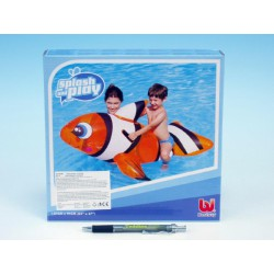 Ryba klaun nafukovací s úchyty 147x94 cm v krabici
