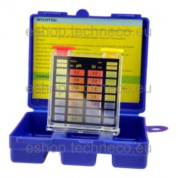 Tabletový tester pH a Cl Smart